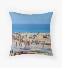 Anglesea Surf Carnival 2010 Throw Pillow