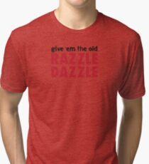 Chicago - Razzle Dazzle Tri-blend T-Shirt