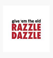 Chicago - Razzle Dazzle Photographic Print