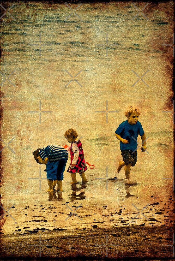 A Day at the Seaside by Catherine Hamilton-Veal  ©