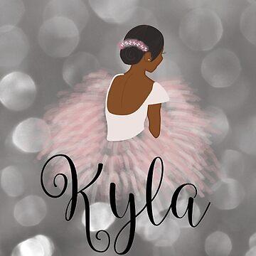 African American Ballerina Dancer Kyla by umeimages