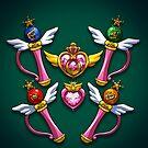 Henshin Items SuperS by Alex Heberling