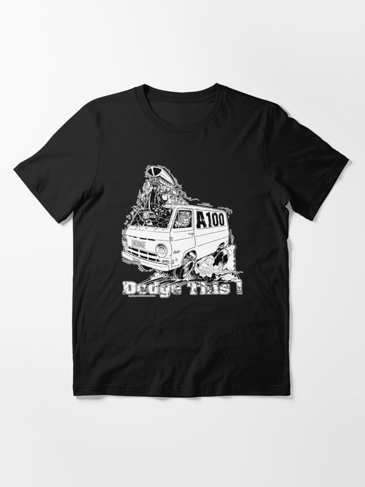 Alternate view of DODGE THIS ! Essential T-Shirt
