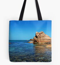 The water and the rocks Tote Bag