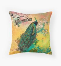 Marvelous Throw Pillow