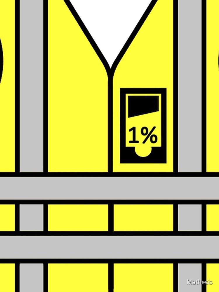 Chalecos amarillos vs 1% de Mathesis