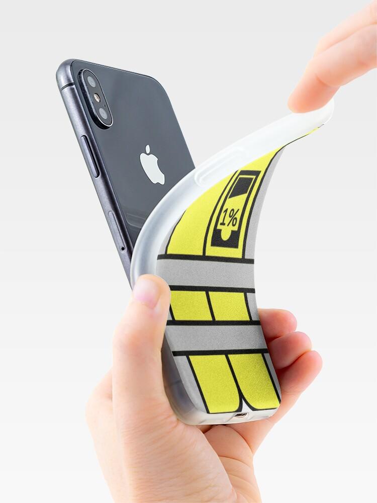Vista alternativa de Vinilos y fundas para iPhone Chalecos amarillos vs 1%