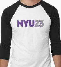 Camiseta ¾ bicolor para hombre NYU 2023