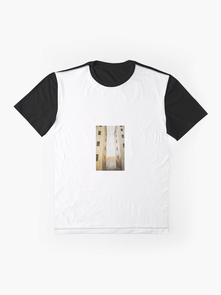 Alternate view of architecture, house, old, outdoors, ancient, window, city, vertical, color image, no people, built structure, residential building, day, wall - building feature, building exterior Graphic T-Shirt