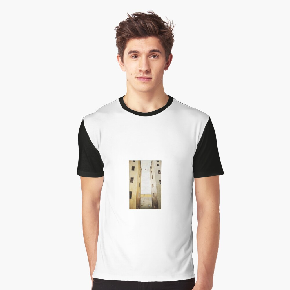 architecture, house, old, outdoors, ancient, window, city, vertical, color image, no people, built structure, residential building, day, wall - building feature, building exterior Graphic T-Shirt