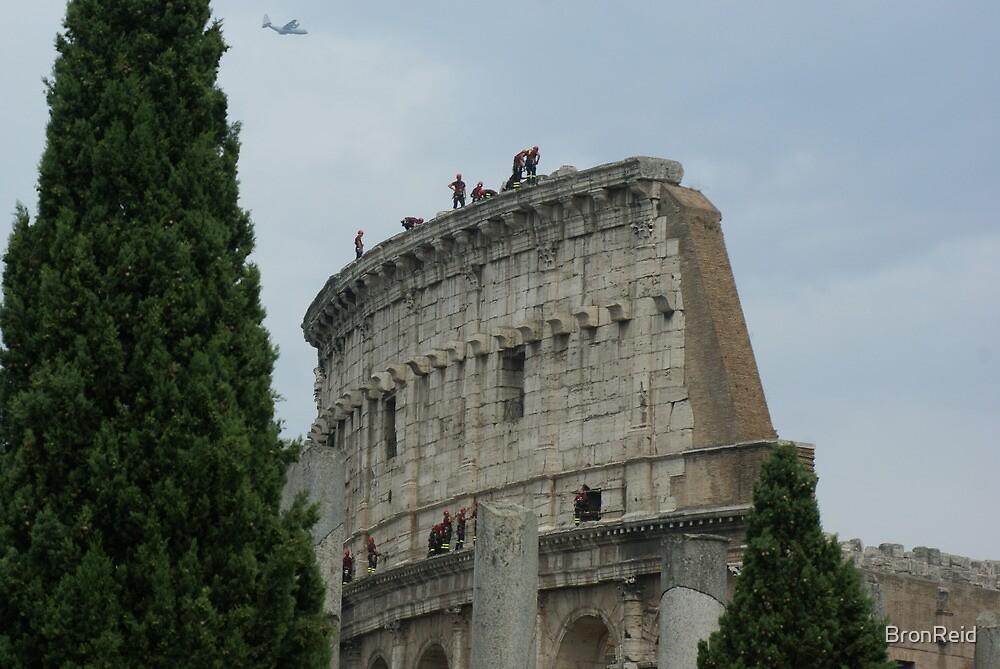 Colosseum close-up, Rome by BronReid
