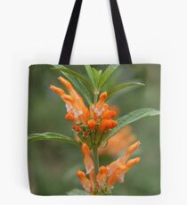 Orange Flower-Water Tower Gardens Tote Bag