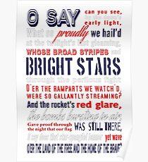 Póster The Star-Spangled Banner