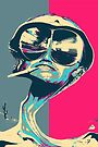 Fear and Loathing in Las Vegas Revisited - Psychedelic Raoul Duke by Serge Averbukh