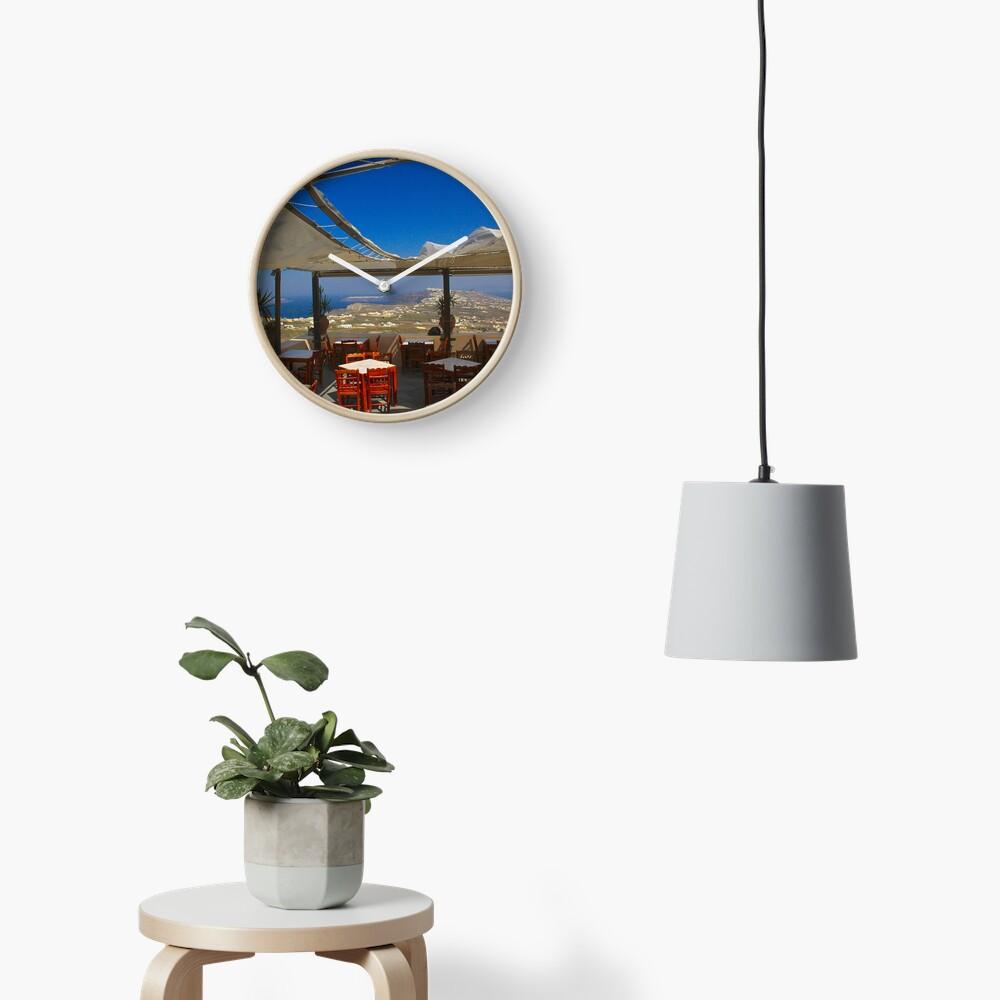 Ein Blick von Pyrgos Uhr