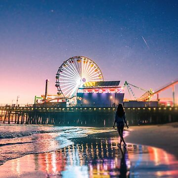 Santa Monica Dream by CaliforniaPhoto