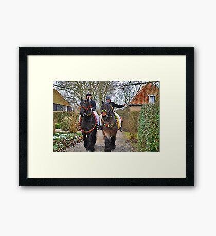 Straô Framed Print