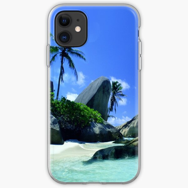 Seychelles Islands; Tropical Heaven iPhone Soft Case