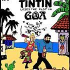 Tintin in Goa by Ronojoy
