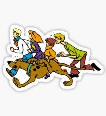 Classic Scooby Doo Sticker Sticker
