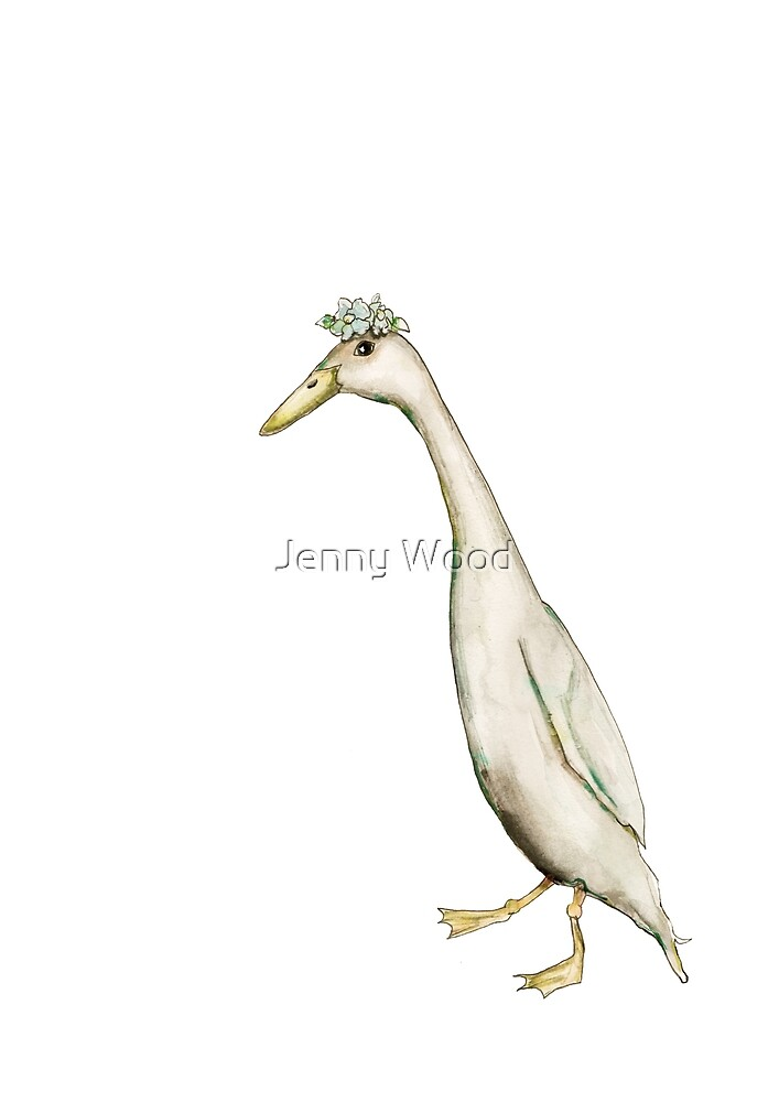 Miss running duck by Jenny Wood