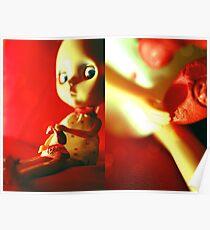 Tabatha en rouge I Poster