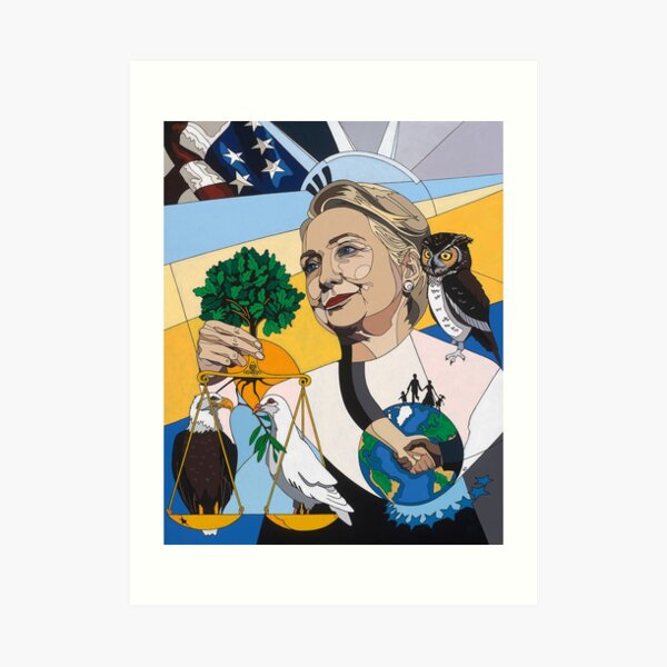 In Honor of Hillary Art Print