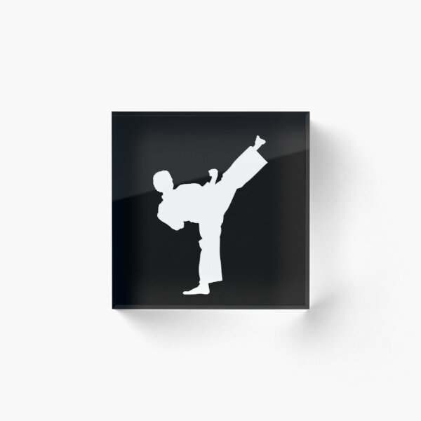 Karate Martial Arts Judo Acrylic Block