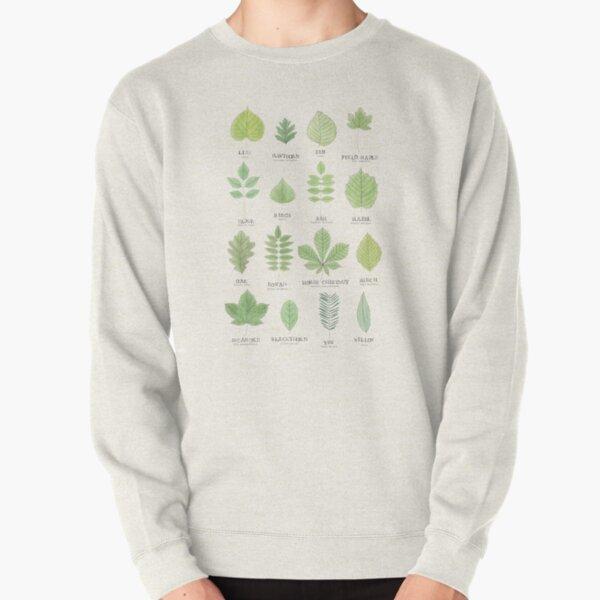 Leaf ID Chart Pullover Sweatshirt