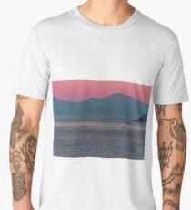 Sunrise at the Amalfi Coast of Italy Men's Premium T-Shirt
