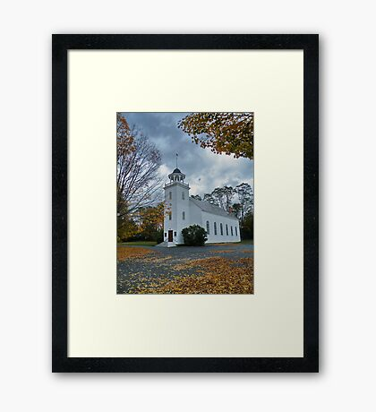 Somewhere in Washington, New Hampshire,  Framed Print