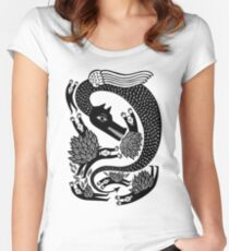 And the dragon Women's Fitted Scoop T-Shirt