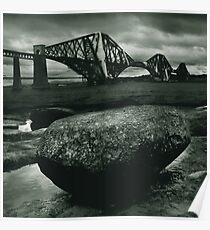 Big Rock Big Bridge Poster