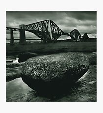 Big Rock Big Bridge Photographic Print