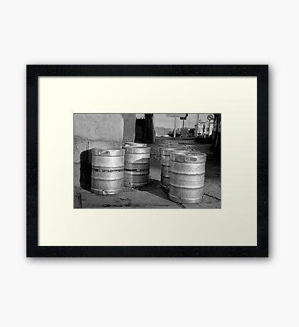 A Gang Of Stout Framed Print