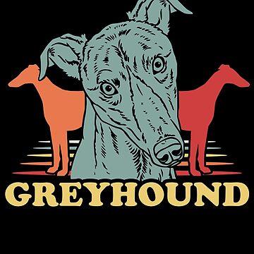 Greyhound dogs by GeschenkIdee