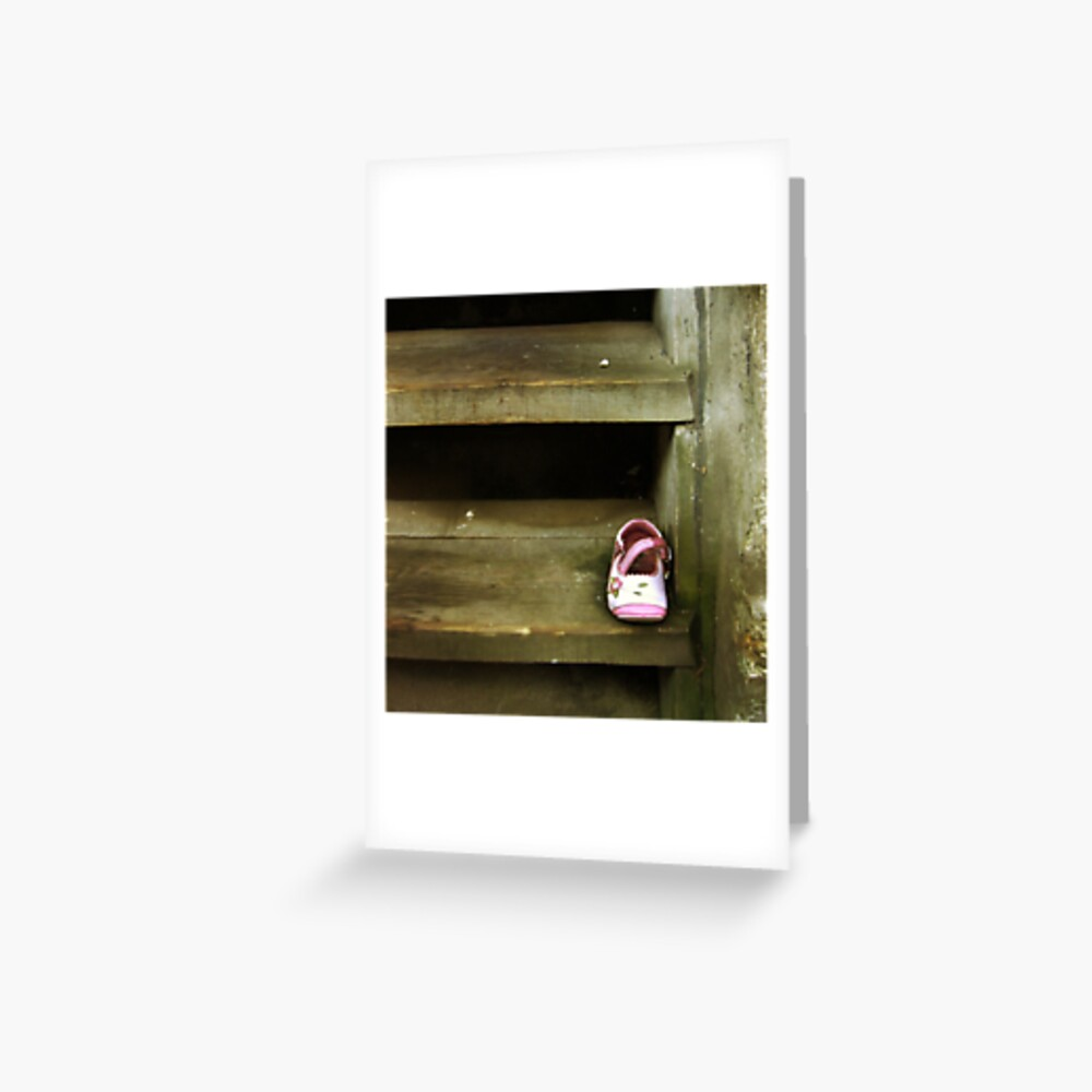 Little Lost Shoe Greeting Card
