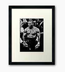 Mike Tyson Framed Print