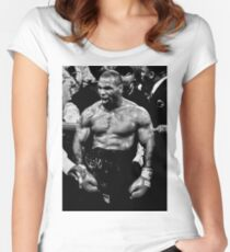 Mike Tyson Women's Fitted Scoop T-Shirt