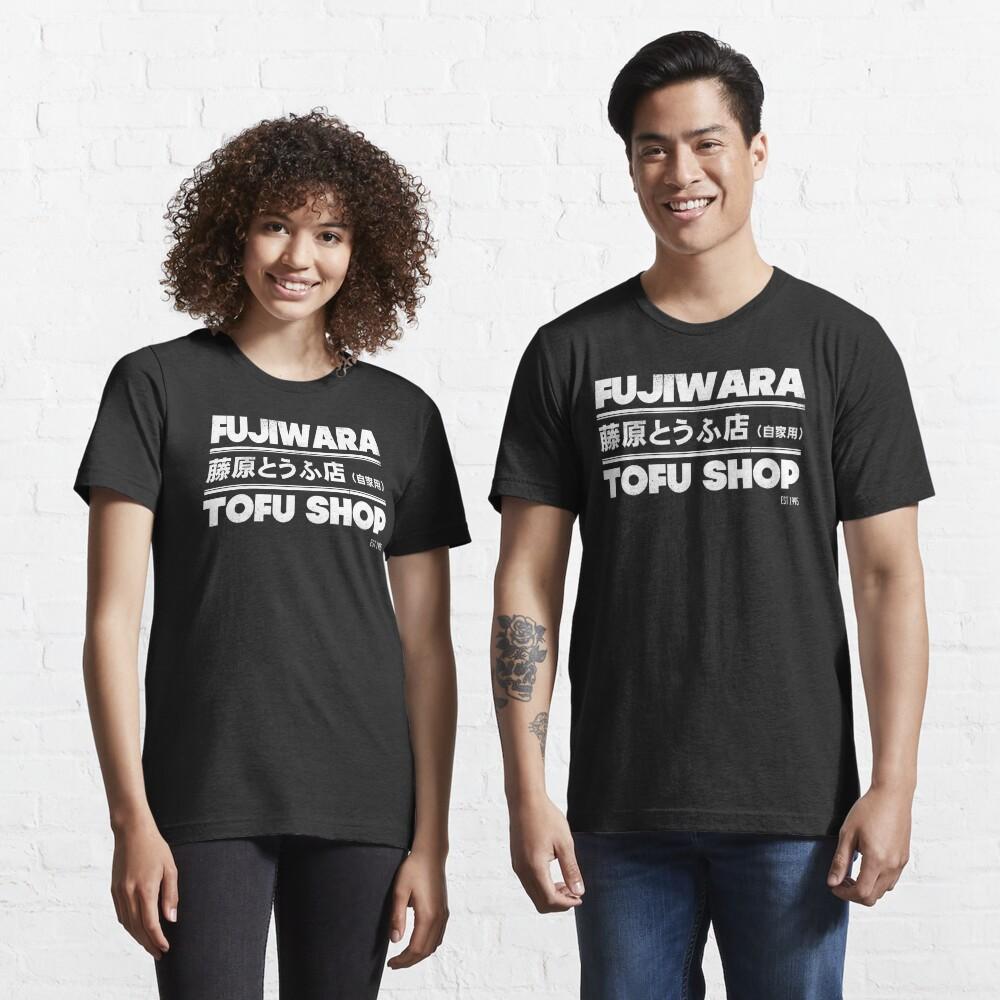 Initial D - Fujiwara Tofu Shop Tee (White) Essential T-Shirt