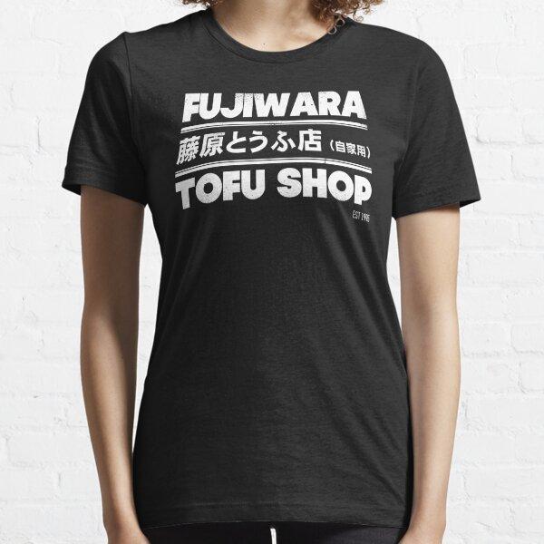 Initial D - Fujiwara Tofu Shop Tee (Blanco) Camiseta esencial