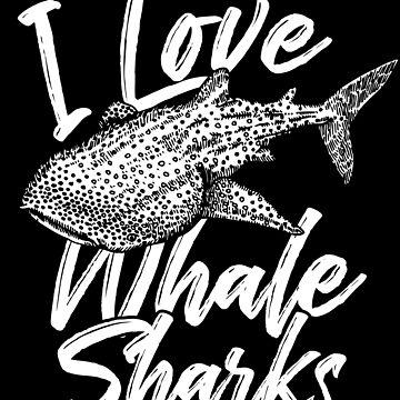 Whale shark love by GeschenkIdee
