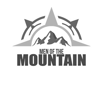 Men of the Mountain Hiking lover TShirt Birthday Gift Tee by jacko89
