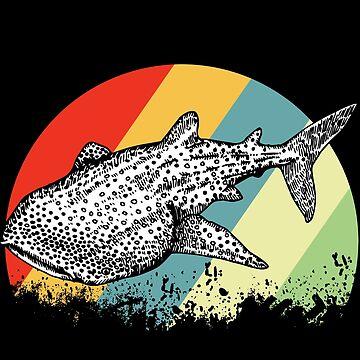Whale shark shark by GeschenkIdee