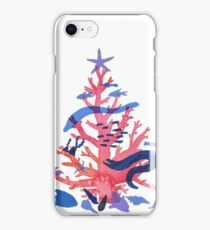 Christmas Coral iPhone Case