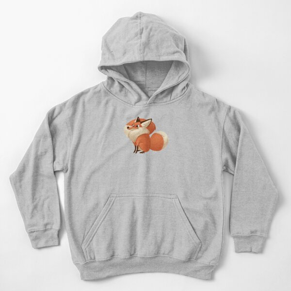 The Excited One Kids Pullover Hoodie