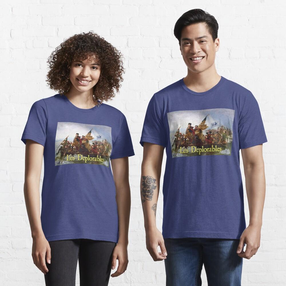 Les Deplorables Crossing the Delaware Essential T-Shirt