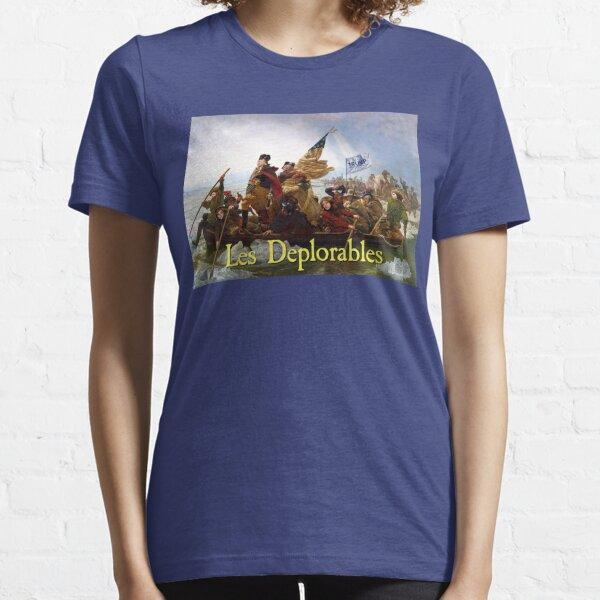 Les Displorables Überquerung der Delaware Essential T-Shirt