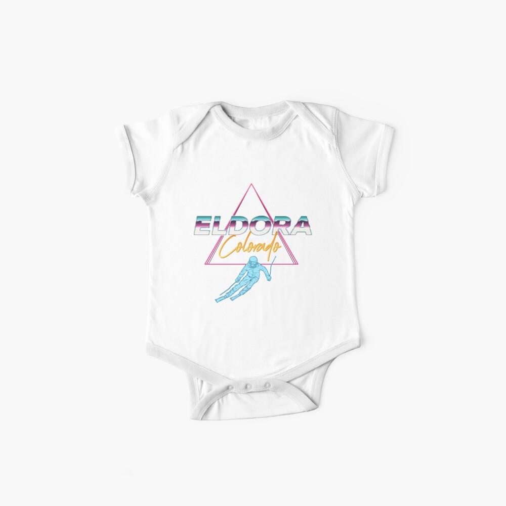 Eldora Colorado - USA Ski Resort 1980er Jahre Retro Kollektion Shirt Baby Bodys