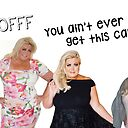 Towie Gemma Collins Fack Off Fak Off You Ain T Ever Gonna Get This Candy Quotes Memes Puns Banter British Celebrity Art Print By Avit1 Redbubble